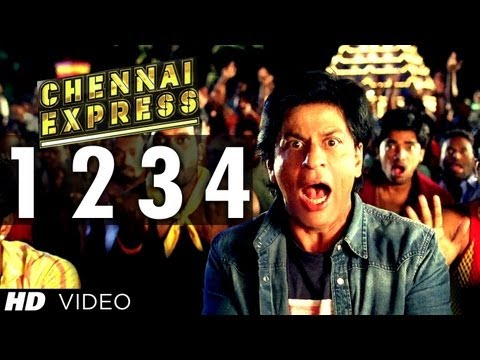 Chennai Express Song One Two Three Four | Shahrukh Khan, Deepika Padukone