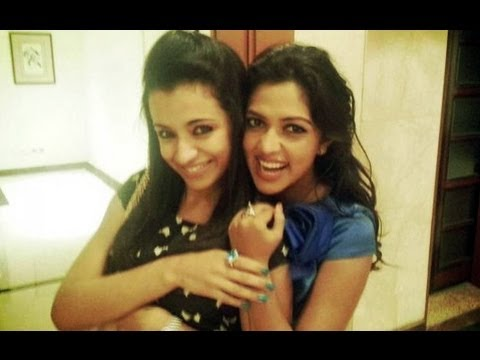 amala paul - trisha  personal mobile video mms