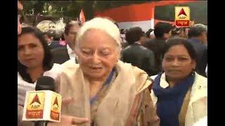 Environment against temperament of India is being created, says Mohsina Kidwai supporting - ABPNEWSTV
