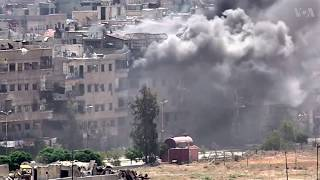 Syria Minister: Rebels in Southern Damascus are IS - VOAVIDEO