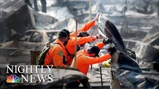 California Wildfires: At Least 40 Dead As Winds Subside | NBC News - NBCNEWS