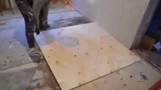 Как мы выровняли деревянные полы  экспериментальный метод