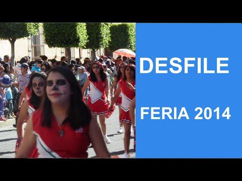 Desfile feria Tlaxcala 2014 parte 1 / Catykanal