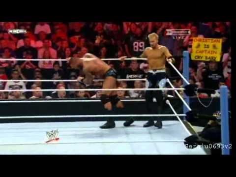 WWE Summerslam 2011 - Christian vs Randy Orton Highlights HD
