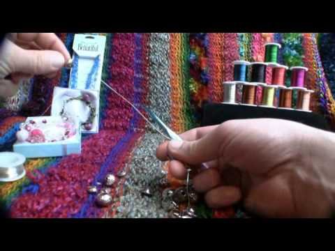 Crochet with Jewelry Wire using Beads