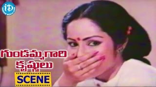 Gundammagari Krishnulu Movie Scenes - Rajendra Prasad Flirting With Rajani || Poornima - IDREAMMOVIES