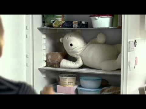 New Birds Eye Polar Bear Advert Highlighting Bake to Perfection Chicken and Prawns