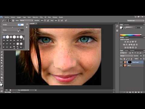 Retocar Rostro o Cara Perfecta en Photoshop CS6 (Tutorial Facil, Rapido y Practico)