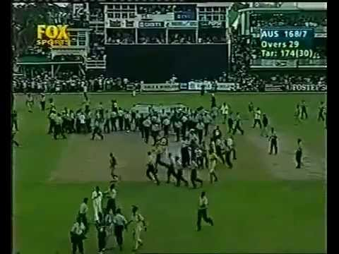 West Indies vs Australia 5th cricket ODI match, 1999 Georgetown, Guyana