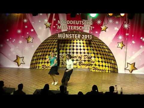 Anna Auer & Niklas Grill - Norddeutsche Meisterschaft 2013