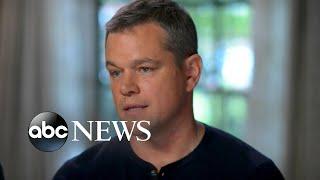 George Clooney, Matt Damon respond to Weinstein allegations - ABCNEWS