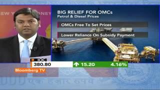 In Business- Government Deregulates Diesel; Raises Gas Price - BLOOMBERGUTV