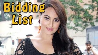 Why Sonakshi Sinha wants to bid on Ranbir Kapoor, Shahrukh Khan & Aamir Khan