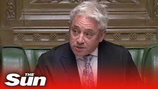 Bercow slams May as 'deeply discourteous' for cancelling Commons Brexit vote - THESUNNEWSPAPER