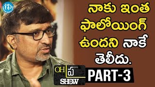 "#Sammohanam Team Interview Part#3 | Oh""Pra"" Show #3 - IDREAMMOVIES"
