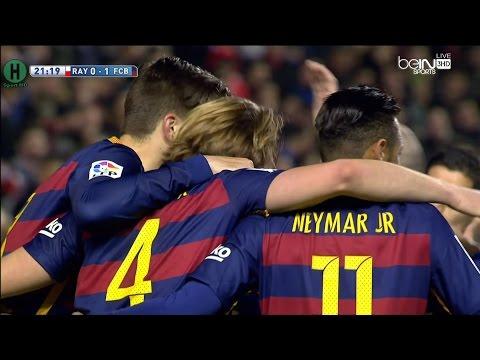 اهداف مبارة رايو فاليكانو و برشلونة 1-5 الدوري الإسباني 3-3-2016 - عرب توداي