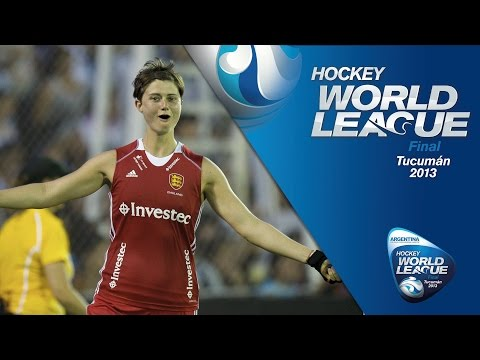 Argentina vs England - Women's Hockey World League Argentina 3rd place Play-off [08/12/2013]