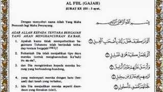 Al Fil Al Quran Terjemahnya