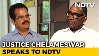Don't Regret Going Public, This Is Why: Justice Chelameswar To NDTV - NDTV
