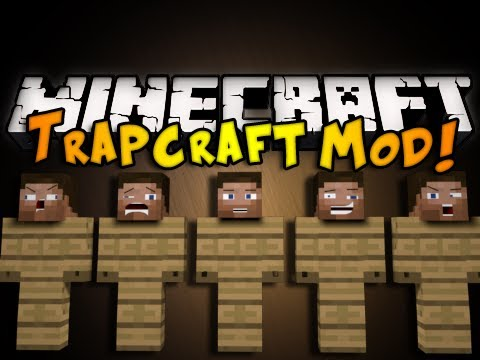 Minecraft Trapcraft Mod DUMMY STEVES FANS SPIKES MORE HD