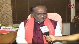 T BJP President K.Laxman Face to Face Interview over Palamuru BJP Bahiranga Sabha | CVR News - CVRNEWSOFFICIAL