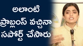 They supported me when I had such problems: Rashmika Mandanna | Devadas - IGTELUGU