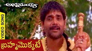 Annamayya Movie Video Song | Brahmamokkate | Nagarjuna | Ramya Krishnan | K. Raghavendra Rao - RAJSHRITELUGU