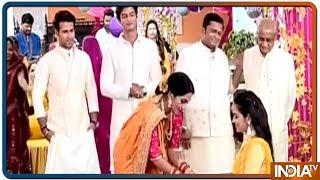 Yeh Rishtey Hain Pyaar Ke: Abir and Mishti celebrate sister Ketki's haldi ceremony - INDIATV