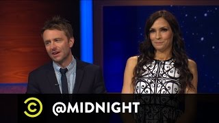 Seth Morris, John Ross Bowie, Peter Serafinowicz - Famke Janssen Wants a Bond Guy - @midnight - COMEDYCENTRAL