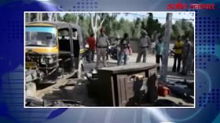 video : लुधियाना : कबाड़ की दुकान पर फटा सिलेंडर, चार घायल