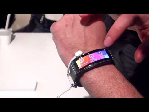 Samsung Gear Fit Hands On First Look