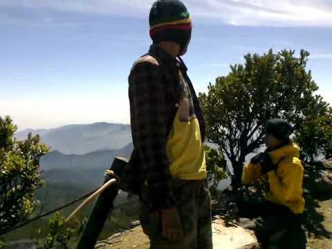 puncak gunung gede pangrango (indahnya indonesia)