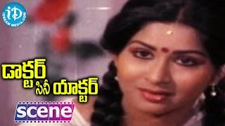Doctor Cine Actor Movie Scenes - Kavitha Falls In Love With Madhu || Jayasudha || Vijaya Nirmala - IDREAMMOVIES