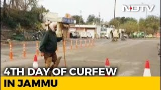 Curfew In Jammu Continues For Fourth Day After Pulwama Terror Attack - NDTV