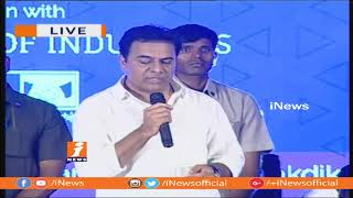 Minister KTR Speech | Dr BR Ambedkar T-Pride Awards 2018 at Ravindra Bharathi | iNews - INEWS