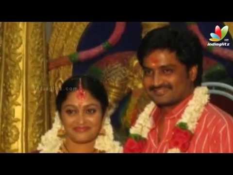 Vijay TV fame Saravanan and Meenatchi gets secretly married   Mirchi Senthil, Sreeja