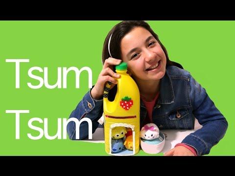 Manualidades para muñecos reciclando: cuna y casa