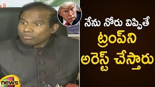 KA Paul Unknown Facts About American President Donald Trump | KA Paul Latest Press Meet | Mango News - MANGONEWS