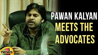 Pawan Kalyan Meets The Advocates In Film Chamber Of Commerce | Mango News - MANGONEWS