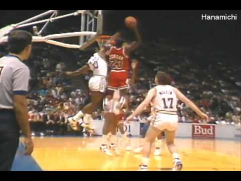 Michael Jordan's Top 23 Dunks by Fan Vote