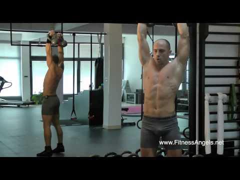 Napredni trening bez pauze sa miješanom opremom: rutina 2
