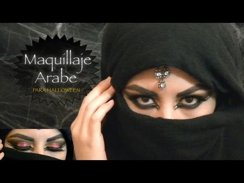 Maquillaje Arabe (HALLOWEEN)