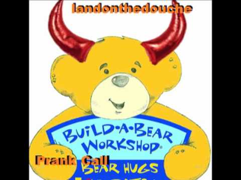 ☎ Build-A-Bear Workshop! Prank call- Possessed teddy(Its got a knife)