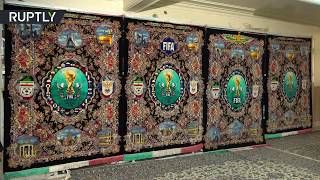 Generous gift: Persian rugs dedicated to World Cup 2018 unveiled - RUSSIATODAY