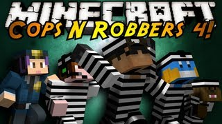 Minecraft Mini-Game : COPS N ROBBERS 4!