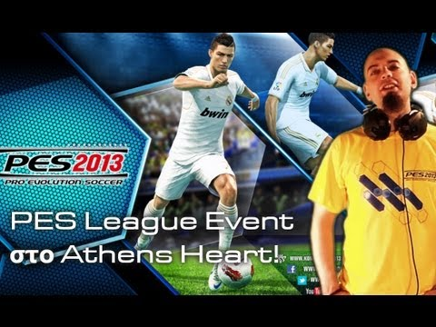 PES League στο Αthens Heart (Pro Evolution 11/5/2013)