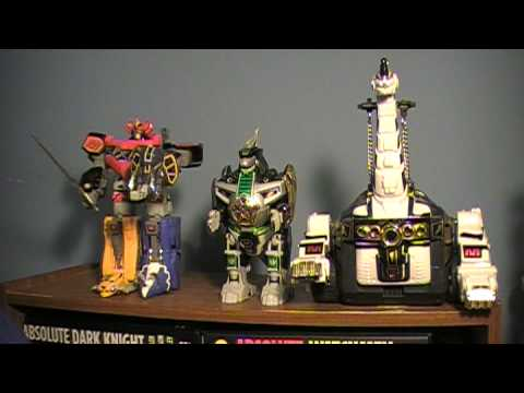 Zords in Mighty Morphin Power Rangers - YouTube