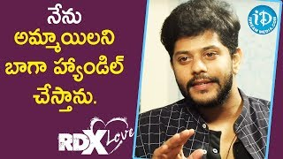 I Can Handle Girls Very well - Actor Tejus Kancherla || Talking Movies With iDream - IDREAMMOVIES