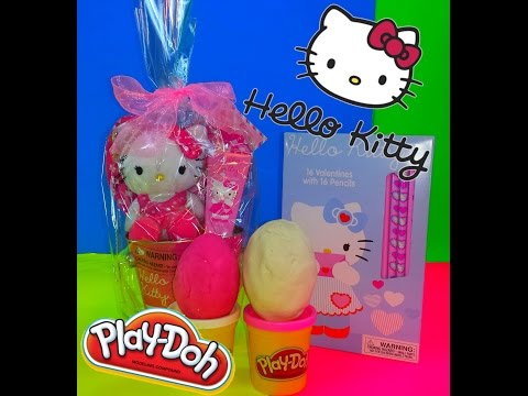 Hello Kitty Valentines Pack with Play-Doh Surprise Eggs