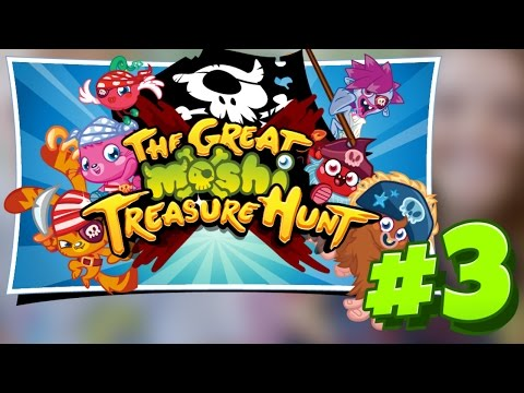 Moshi Monsters YouTube Treasure Hunt #3!